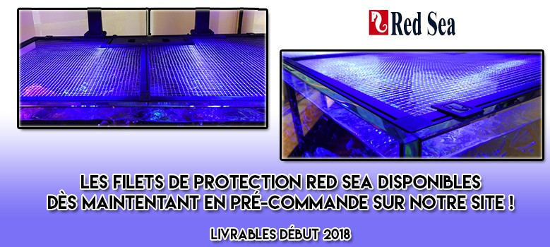 Nouveau ! Les filets de protection RED SEA