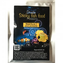 DRUIDE Sticky Fish Food 30 gr- Nourriture pour poissons