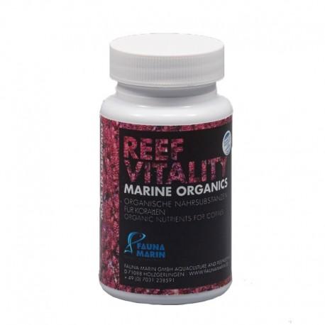 FAUNA MARIN Reef Vitality Marine Organics 60 caps- Nourriture pour coraux