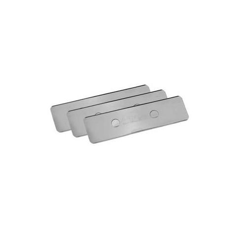 TUNZE- Set de lames en acier inoxydable- 3 pièces