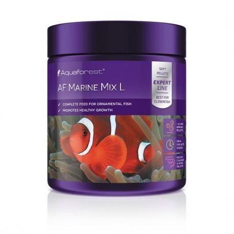 AQUAFOREST AF Marine Mix L 120g- Nourriture pour poissons