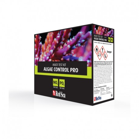 RED SEA Algae Control Pro Test Kit- Test d'eau pour aquarium