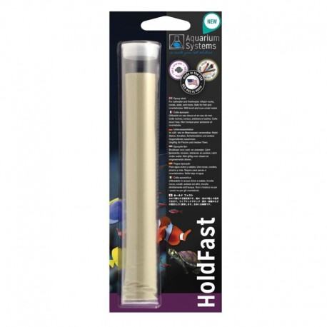 AQUARIUM SYSTEM HoldFast Stick Colle Epoxy Sand- Colle pour aquarium