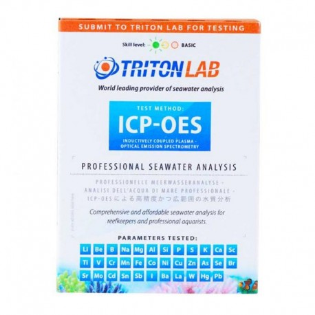 TRITON LAB Test ICP-OES- Test laboratoire