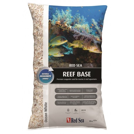 RED SEA Reef base Blanc- Aragonite sec 10 kg