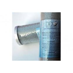 D-D Pré-filtre Charbon 10¨- Pour osmoseur D-D 50/75/150