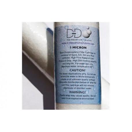 D-D Cartouche Fine Filter 10¨- Pour osmoseur D-D 50/75/150