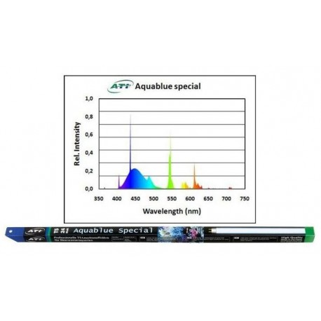 ATI Aquablue Special 39 Watts 15000K° - Tube T5 850mm