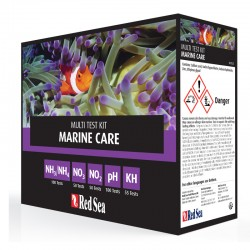 RED SEA Marine Care Test- Test d'eau pour aquarium