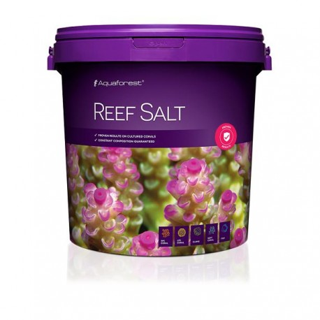 AQUAFOREST Reef Salt 22 kg- Sel pour aquarium