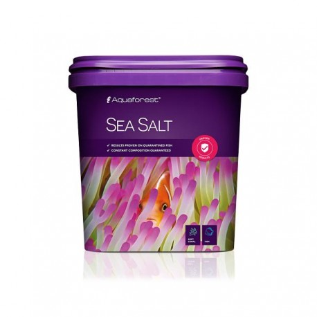 AQUAFOREST Sea Salt 5 kg- Sel pour aquarium