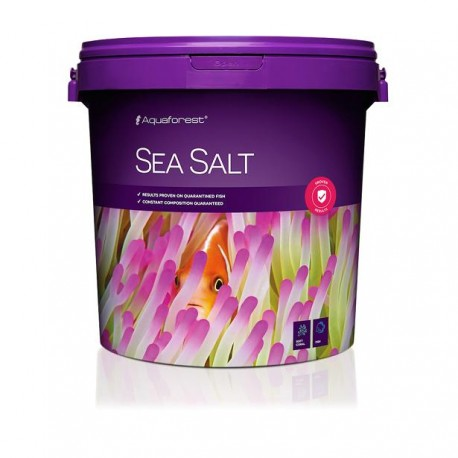 AQUAFOREST Sea Salt 22 kg- Sel pour aquarium