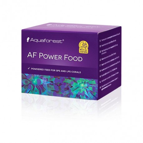 AQUAFOREST AF Power Food 20gr- Nourriture pour coraux