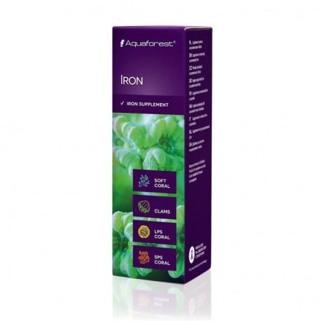AQUAFOREST Iron 10 ml- Oligo-éléments pour coraux