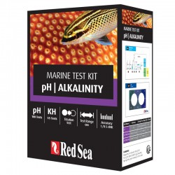 RED SEA pH/Alkalinity Test Kit- Test d'eau pour aquarium