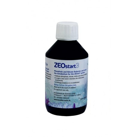 KORALLEN-ZUCHT ZEOstart 3 10 ml- Réducteur de NO3 et PO4
