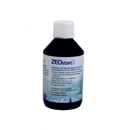 KORALLEN-ZUCHT ZEOstart 3 100 ml- Réducteur de NO3 et PO4