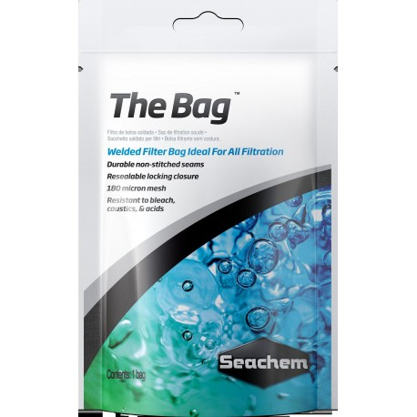 SEACHEM The Bag- Sac réutilisable de filtration