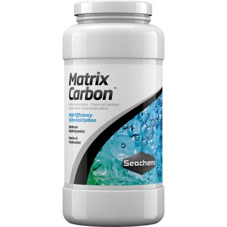 SEACHEM Matrix Carbon 500 ml- Charbon pour aquarium