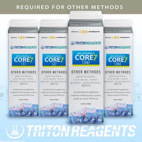 TRITON Core7 Reef Suppléments (Other Methods)- 4 x 1L