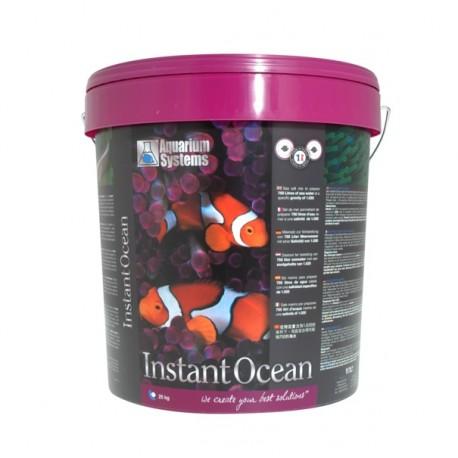 AQUARIUM SYSTEMS Instant Ocean 25 kg- Sel pour aquarium
