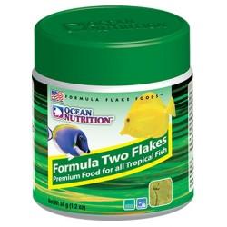 OCEAN NUTRITION Formula Two Flakes 34 g- Nourriture pour poissons