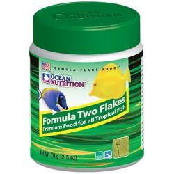 OCEAN NUTRITION Formula Two Flakes 70 g- Nourriture pour poissons