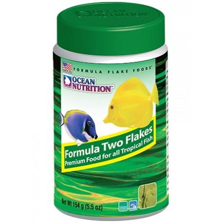 OCEAN NUTRITION Formula Two Flakes 154 g- Nourriture pour poissons