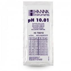 HANNA Solution étalon pH 10.01 - Sachet de 20 ml