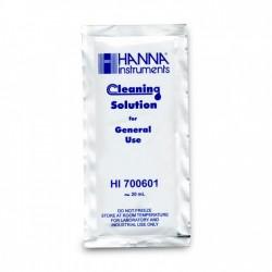 HANNA Solution de nettoyage pour électrode- Sachet de 20 ml x 5