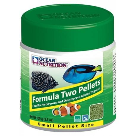 OCEAN NUTRITION Formula Two Pellets Small 100 g- Nourriture pour poissons