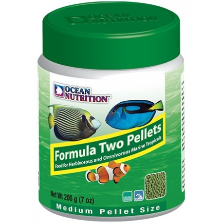 OCEAN NUTRITION Formula Two Pellets Medium 200 g- Nourriture pour poissons