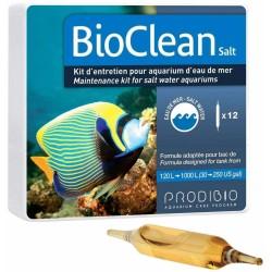 PRODIBIO BioClean Salt 12 Ampoules- Bactéries pour aquarium