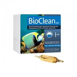 PRODIBIO BioClean Salt 30 Ampoules- Bactéries pour aquarium