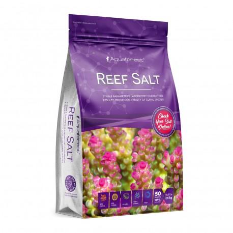AQUAFOREST Reef Salt 7,5 kg- Sel pour aquarium