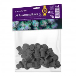 AQUAFOREST AF Plug Rocks Black- Lot de 24