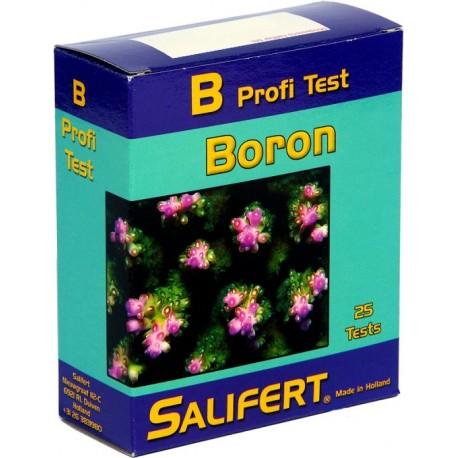 SALIFERT Boron Profi Test- Test d'eau pour aquarium