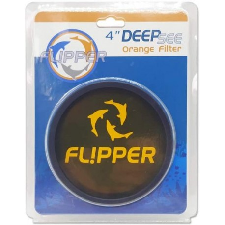 "Flipper DeepSee Standard 4""- Filtre orange"