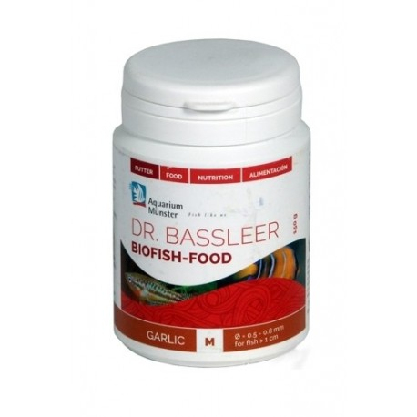 Dr. Bassleer Biofish Food Garlic M 60 gr- Nourriture pour poissons