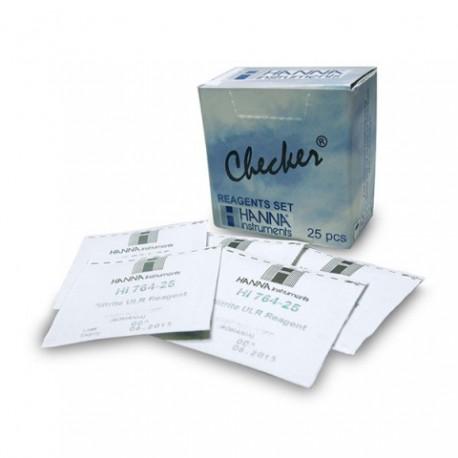 HANNA Lot De 25 Réactifs Phosphates (PO4) Pour Checker Phosphates