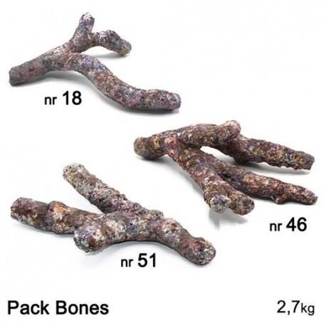 DUTCH REEF ROCK Pack Bones- 2,7 kg Roches artficielles