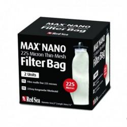 RED SEA Filter Bag Max Nano nylon 225 micron- Lot de 2