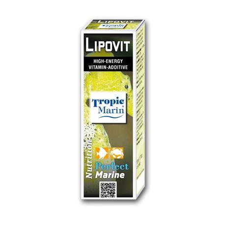 TROPIC MARIN Lipovit 50ml- Vitamines pour poissons