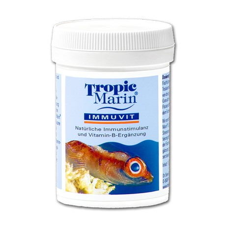 TROPIC MARIN Immuvit 60 gr- Stimulant immunitaire pour poissons