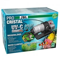 JBL ProCristal UV-C Compact Plus 5W- Stérilisateur pour aquarium de 100 à 300 L