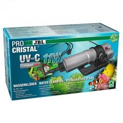 JBL ProCristal UV-C Compact Plus 11W- Stérilisateur pour aquarium de 200 à 800 L