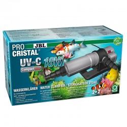 JBL ProCristal UV-C Compact Plus 18W- Stérilisateur pour aquarium de 800 à 1500 L