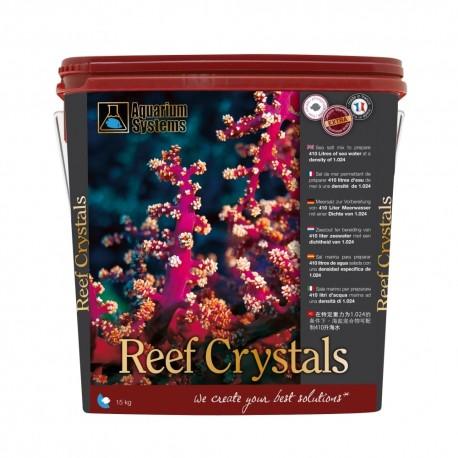 AQUARIUM SYSTEMS Reef Crystals 10 kg- Sel pour aquarium