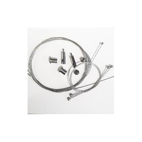 D&D Kit câbles de suspension pour Rail Double