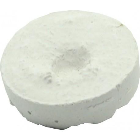 Plug plat avec trou 3,8 cm- lot de 25